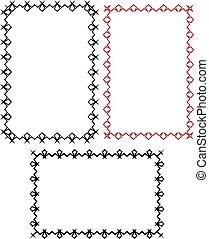 Bold Frame - Bold Thick Frame Border Design Vector ...