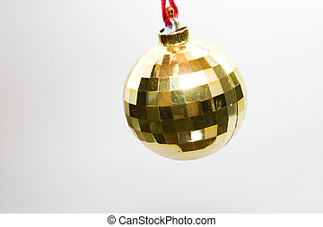 bold, træ, jul