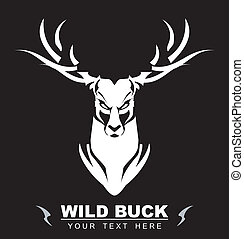 Bold Wild Buck - symbolizing the power, protection, dignity,...