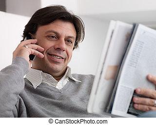 boldog, ember, vásárlás, alapján, katalógus, noha, telefon