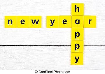 boldog {j évet, felírás
