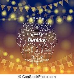 boldog születésnapot, aláír