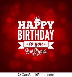 boldog születésnapot, aláír, tervezés, háttér