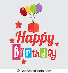 boldog születésnapot, tervezés
