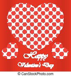 boldog, valentines nap