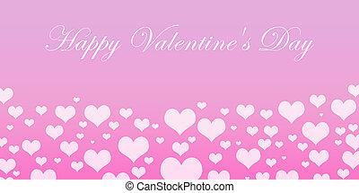 boldog, valentines nap, kártya
