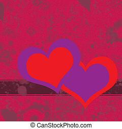 boldog, valentines nap, piros