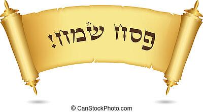 boldog, zsidó húsvét