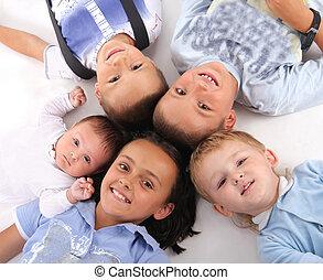 boldogság, gyerekek