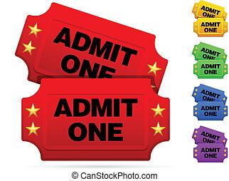 boletos, película, clásico