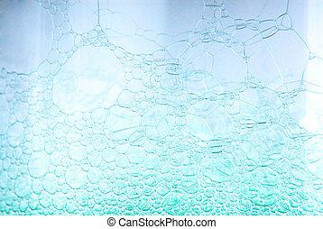 bolha sabão, suds, textura