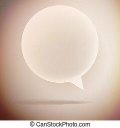 bolha, vindima, fala, eps10, experiência.