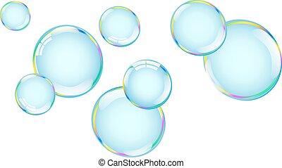 bolhas, estouro