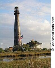 Bolivar Lighthouse Close