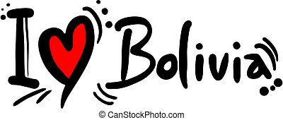bolivia, amore