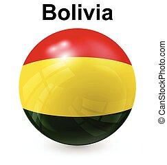 bolivia ball flag