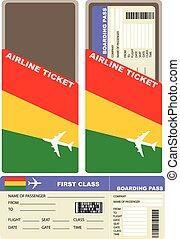 bolivia, biglietto, aereo, classe, primo