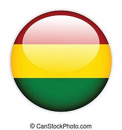 Bolivia flag button