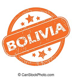 bolivia, grunge, icona