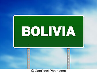 Bolivia Highway Sign