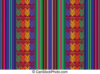 Bolivian seamless pattern - Vector seamless pattern in...