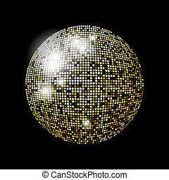 boll, glitter