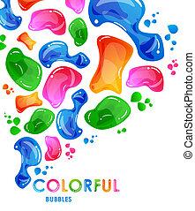 bolla, colorito, fondo