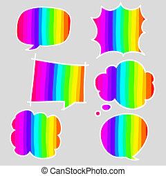 bolle, discorso, colorito