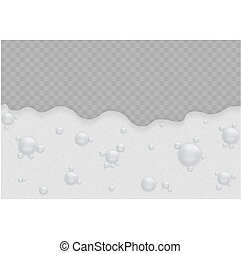 bolle, schiuma, fondo