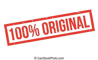 bollo gomma, 100 percento, originale