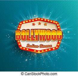 Bollywood Indian Cinema Film frame