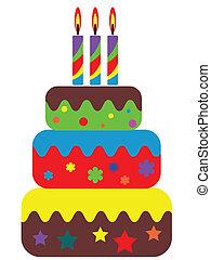 bolo aniversário