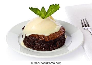 bolo, chocolate-boubon