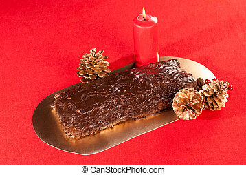 bolo, natal, francês