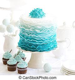 bolo, ombre, desembaraçar