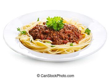 bolognese espaguetis