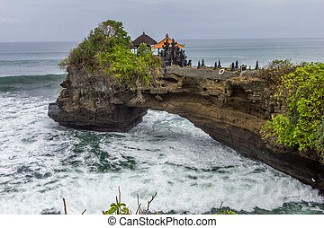 Bolong Temple in Bali, Indonesia