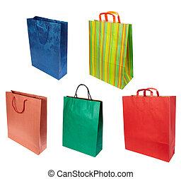bolsa, consumismo, shoping, venta al por menor