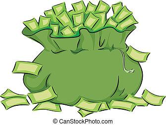 bolsa, dinero