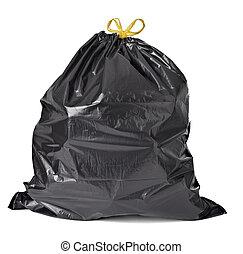 bolsa lixo, lixo, desperdício