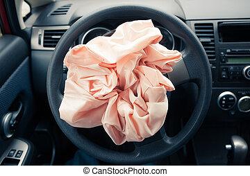 bolsade aire, rueda, entrepuente, estalla