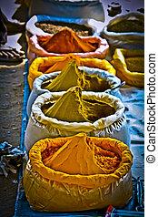 bolsas, mercado, india, pradesh, arunachal, especias