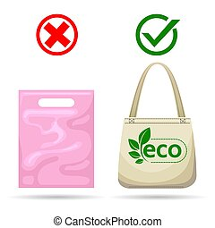 bolsas, no, plástico
