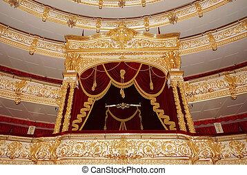 bolshoi, théâtre, historique