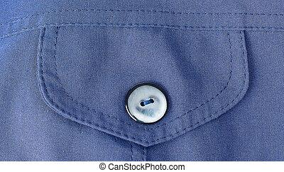 bolso, algodão, camisa