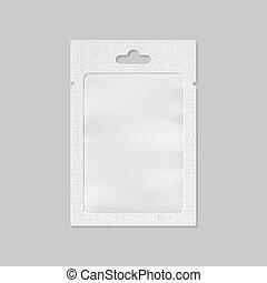 bolso, saco, janela, vetorial, branca, transparente