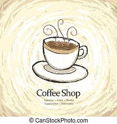 bolt, étrend, kávécserje
