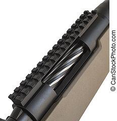 Bolt action rifle receiver