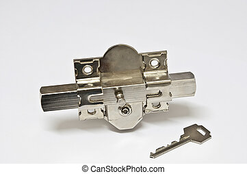 Bolt and key - Picture of a bolt and key