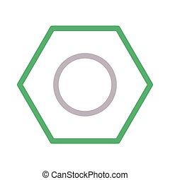 bolt  color line icon